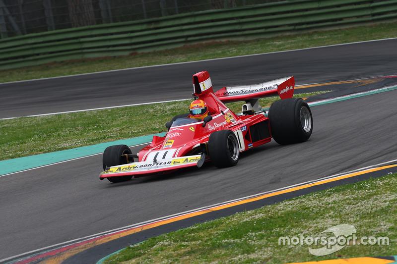 Ferrari 312 B3 Клея Регаццони