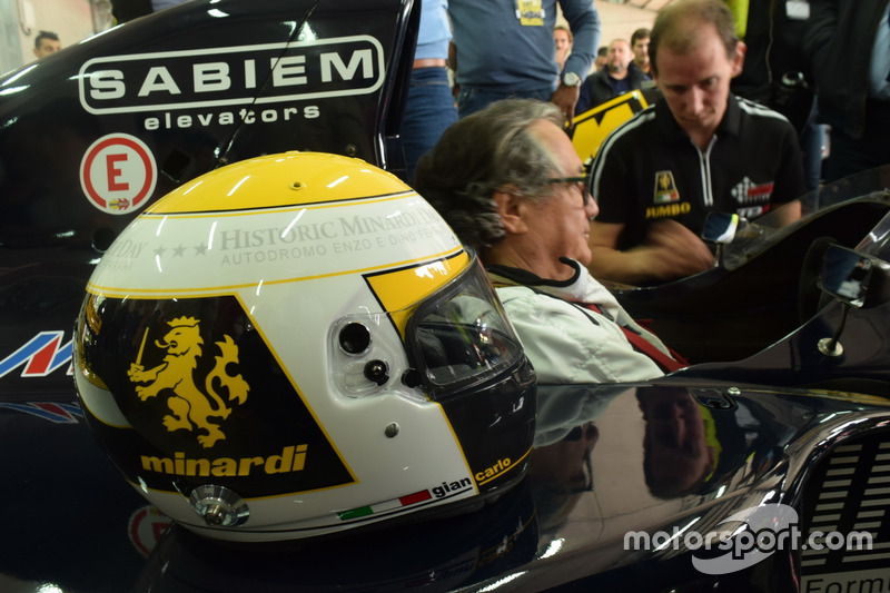Gian Carlo Minardi met M192
