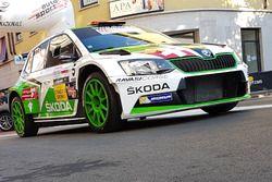 Grégoire Hotz, Pietro Ravasi, Skoda Fabia R5, Lugano Racing Team
