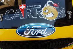 Logo Sébastien Carron, Ford Fiesta R5