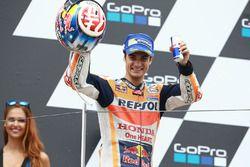 Podium: tercero, Dani Pedrosa, Repsol Honda Team