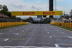 Start/Ziel-Gerade am Circuit de Barcelona-Catalunya