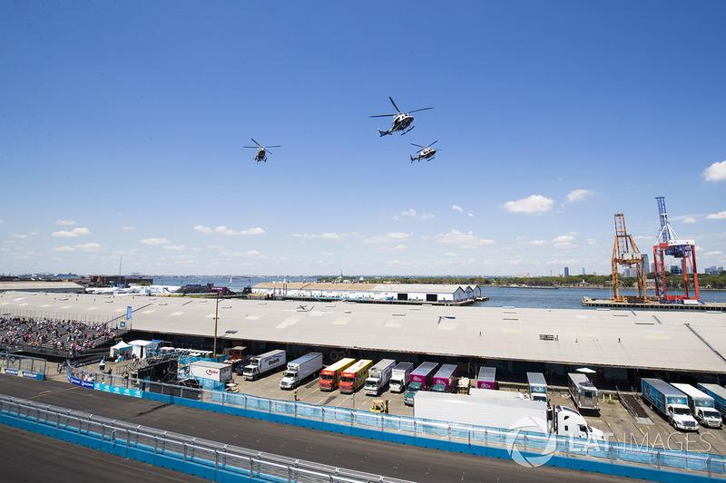 Helicópteros de la policía de Nueva York