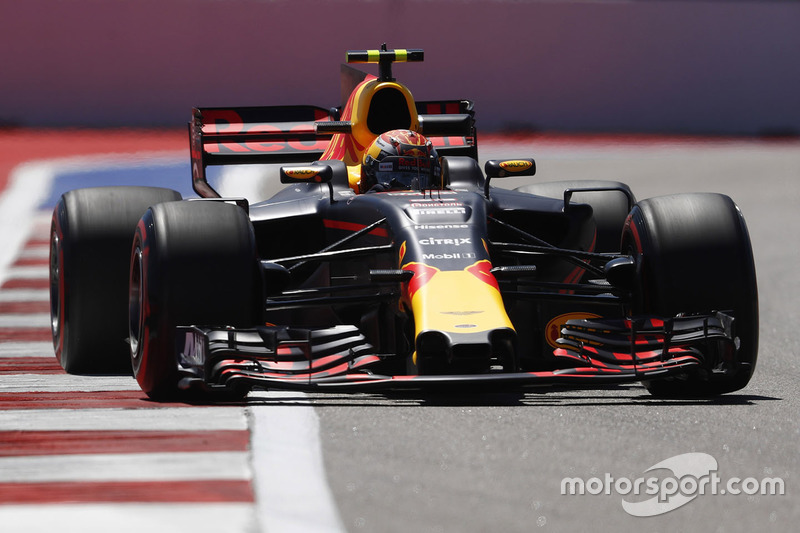 ... Max Verstappen, sétimo no grid de largada em Sochi.