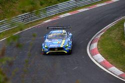 #3 Black Falcon, Mercedes-AMG GT3: Дирк Мюллер, Томас Егер, Маро Энгель, Ян Зейффарт