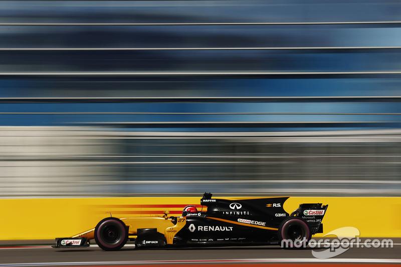 Nico Hülkenberg foi bem novamente e larga em oitavo, diferente do companheiro de equipe, Joylon Palmer, que ficou no Q1 e larga em 16º.