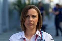 Claire Williams, directora de equipo de Williams