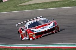 Ferrari 488-S.GT3 #27, Team Maulcelli: Malacucelli-Cheever