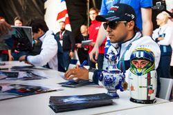 Felipe Massa, Williams lors d'une séance d'autographes