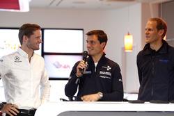 Maro Engel, Black Falcon; Bruno Spengler, BMW Team Schubert Motorsport; Jörg Bergmeister, Team Falken Motorsport