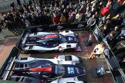 #2 United Autosports, Ligier JS P3 - Nissan: John Falb, Sean Rayhall, #32 United Autosports, Ligier
