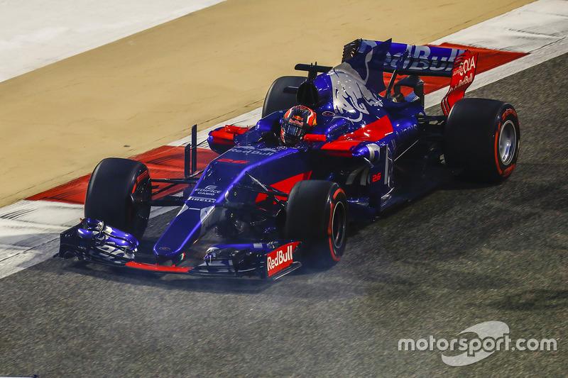 12e : Daniil Kvyat (Toro Rosso)