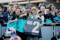 second place Joan Mir, Leopard Racing, KTM