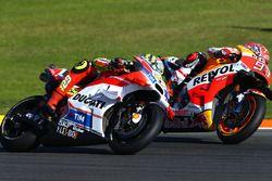Andrea Iannone, Ducati Team, Marc Marquez, Repsol Honda Team