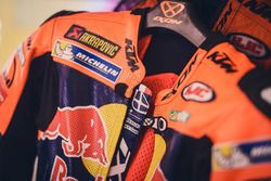 Race suit of Mika Kallio, Red Bull KTM Factory Racing