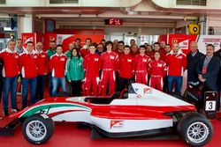 Ferrari Driver Academy, foto di gruppo
