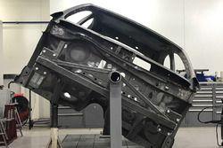 Châssis de la Renault Megane R.S. RX préparée par Prodrive