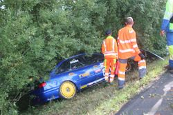 Björn Wiebe, Renault Laguna BTCC, MSC Odenkirchen, Accident 3. Course
