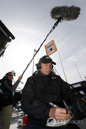 Scott Dixon, Chip Ganassi Racing Honda, técnico de neumáticos legendario Kenny Szymanski