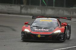 #98 K-Pax Racing McLaren 650S: Mike Hedlund