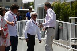 Bernie Ecclestone, presidente honorario de la fórmula 1