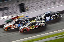 Michael Annett, Hscott Motorsports Chevrolet, Michael McDowell, Circle Sport-Leavine Family Racing C