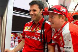 Giuliano Salvi and Kimi Raikkonen, Ferrari