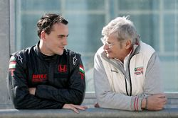 Norbert Michelisz, Honda Racing Team JAS mit Alessandro Mariani, Teamchef Honda Team JAS