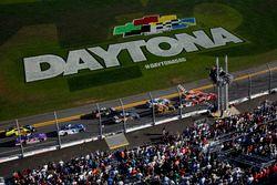 Start: Ty Dillon, Richard Childress Racing Chevrolet führt
