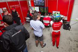 Maranello Motorsport team area
