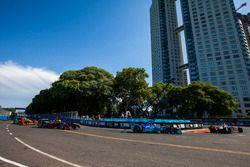 Stéphane Sarrazin, Venturi; Robin Frijns, Amlin Andretti Autosport Formula E Team; Mike Conway, Venturi; Lucas di Grassi, ABT Schaeffler Audi Sport