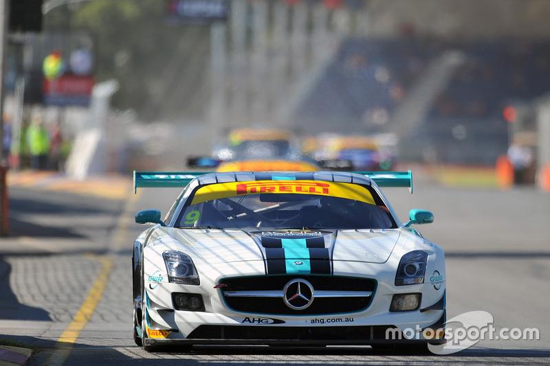 #9 Mercedes SLS AMG GT3: Ash Samadi
