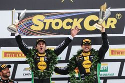 Podium: race winners Antonio Pizzonia, Marcos Gomes