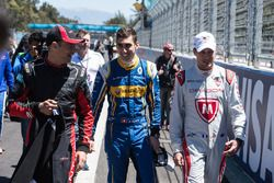 Sébastien Buemi, Renault e.Dams, Loic Duval, Dragon Racing and Stéphane Sarrazin, Venturi