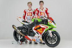 Alessandro Zaccone, San Carlo Team Italia y Axel Bassani, San Carlo Team Italia