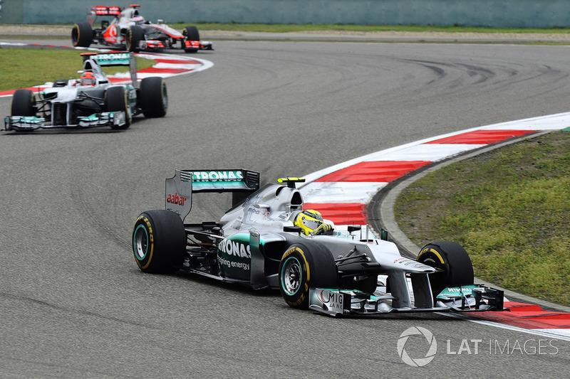 GP de China: Rosberg