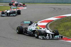 Ganador de la carrera Nico Rosberg, Mercedes AMG F1 W03
