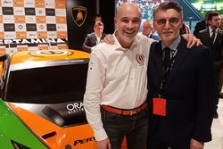 Armando Donazzan, Orange1 Racing eigenaar en Lorenzo Senna, Motorsport.com Switzerland country manag