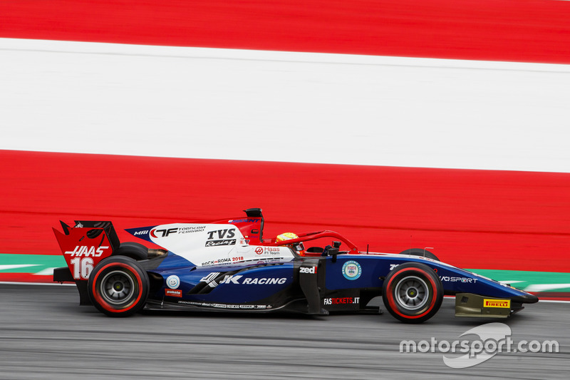 Arjun Maini (F2, Silverstone)