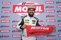 Il vincitore del Motul Pole award #80 AWA, Ford Mustang GT4, GS: Brett Sandberg