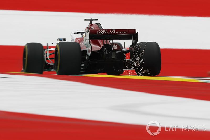 Marcus Ericsson, Sauber C37 fait des étincelles