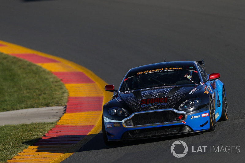 #99 Automatic Racing, Aston Martin Vantage, GS: Al Carter, Eric Lux