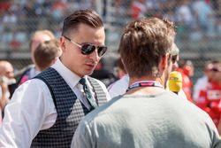 Austrian singer Andreas Gabalier on the grid