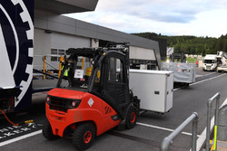 Forklift and freight