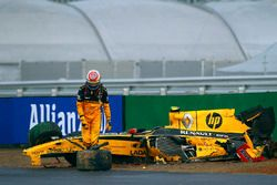 Accidente de Vitaly Petrov, Renault R30