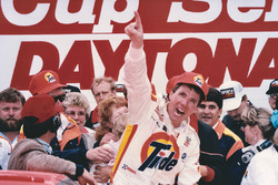 Race winner Darrell Waltrip