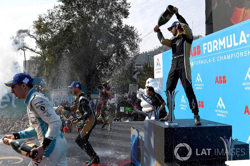 Sébastien Buemi, Renault e.Dams, Andre Lotterer, Techeetah, Jean-Eric Vergne, Techeetah