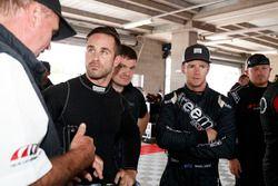 #69 Audi Sport Customer Racing Audi R8 LMS: Ash Walsh, #3 Audi Sport Customer Racing Audi R8 LMS: Daniel Gaunt
