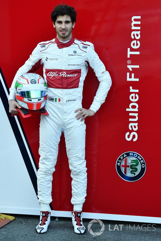 Antonio Giovinazzi, Sauber