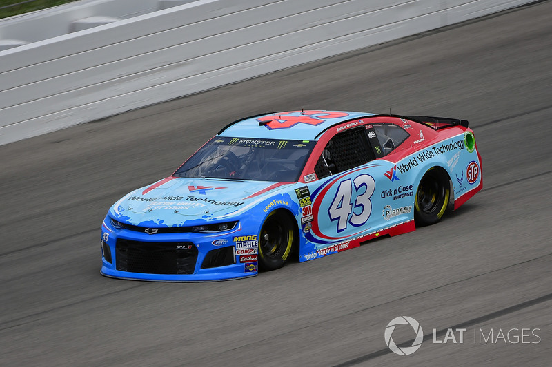 21. Darrell Wallace Jr., Richard Petty Motorsports, Chevrolet Camaro World Wide Technology